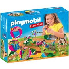 Playmobil 9331 - Play Map Pónilovaglás